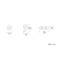 「真鍮切文字 記号:コンマ(カンマ)・ピリオド・ハイフン」