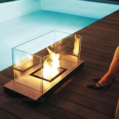【観賞用暖炉】炎のディスプレイ 「ラーディウスデザイン (RADIUS) ユニフレーム UniFlame」