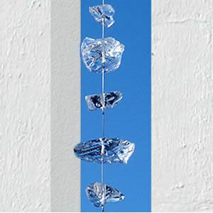 ガラス装飾 グラストレイン 60cm
