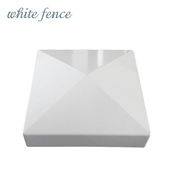 ホワイトフェンス用キャップ 「フラットキャップ 5インチ」