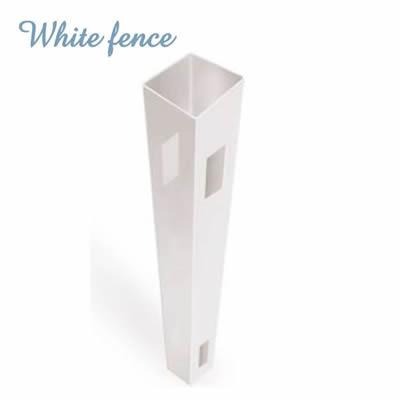 ホワイトフェンス用「ポスト」<ウィンドスルー・プライバシー1型/2型用>