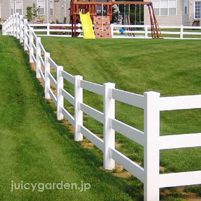 ホワイトフェンス 「ファーム3型」