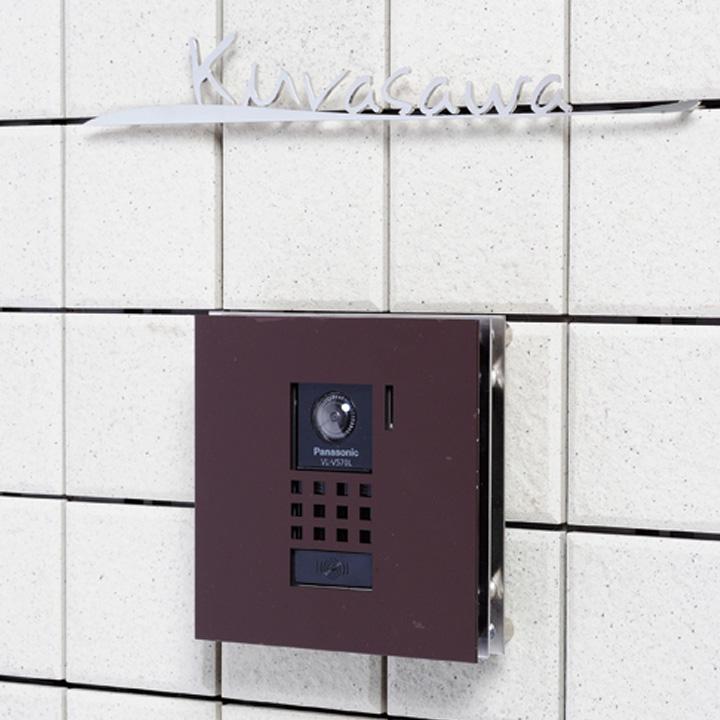 インターホンカバー インターフォン プレート:フィンタイプ