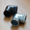 4mm六角レンチ対応 「DIY-ID パイプクランパー L型 直径25.4mmパイプ用」