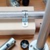 「DIY-ID パイプクランパー パイプ 直径25.4×長さ1000mm」