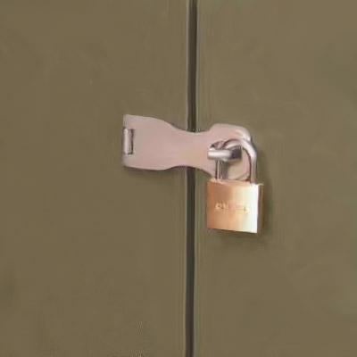 メタルシェッドOPTION 補助錠 ハプス&パドロック<兆番+南京錠>