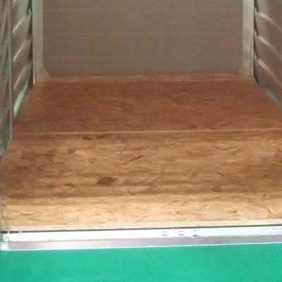 屋外収納庫メタルシェッドオプション ウッドフロア<TM1用>