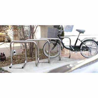 連結可能な駐輪スタンド「自転車スタンド サイクルレスター D-NA SYタイプ」【1ユニット1台】