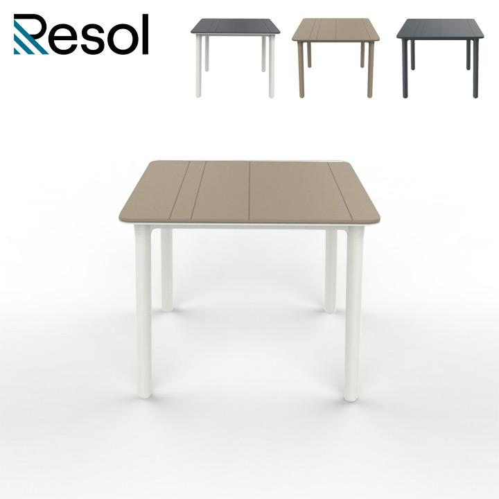 「Resol Noa リソル ノア テーブル 90×90」