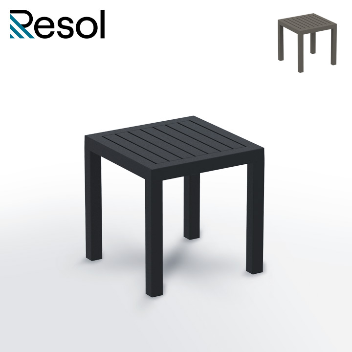 「Resol Ocean リソル オーシャン サイドテーブル 45×45」