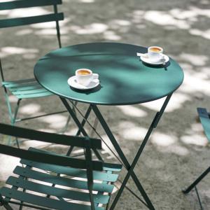 屋外用テーブル「Fermob ビストロ ラウンドテーブル60」