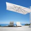 イタリア スコラロ社製 (Scolaro社) 大型パラソル「ガリレオ イノックス & 専用ベース セット」