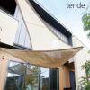 日除け用サンシェード「テンデ(tende) タープ トライアングルS 3.1×2.4m」
