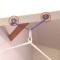 壁や梁の水平面への設置用「CUチェアハンモック用 取付金具セット3」