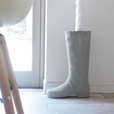 おしゃれな傘立て 「ブーツシェイプ アンブレラスタンド」