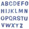 Puffy Sign パフィーサイン アルファベット(A〜T) ブルーベリー