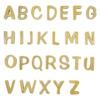 陶器の可愛い文字表札 「Puffy Sign パフィーサイン アルファベット マロン(U〜Z)」