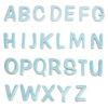 陶器の可愛い文字表札 「Puffy Sign パフィーサイン アルファベット ソーダ(A〜T)」