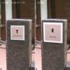 「ポーセリンアート表札 INITIAL(イニシャル) 〜by salon de SHIORIEL〜 110角」