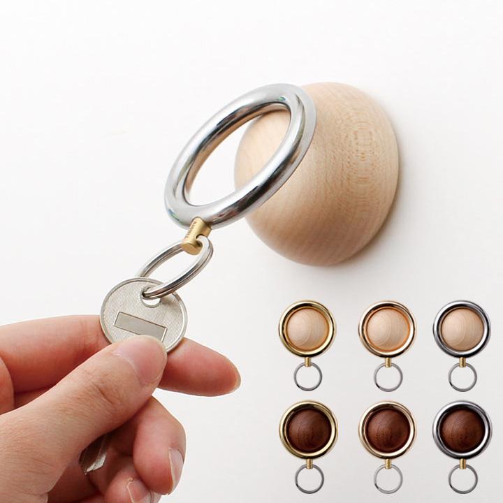鍵を無くさない便利なアイテム 「Timbre Key Holder キーホルダー Wakka」