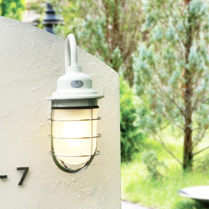 ブラケットライト 工業系デザイン照明 マリンランプ 「レトロ外灯 U形マリン」