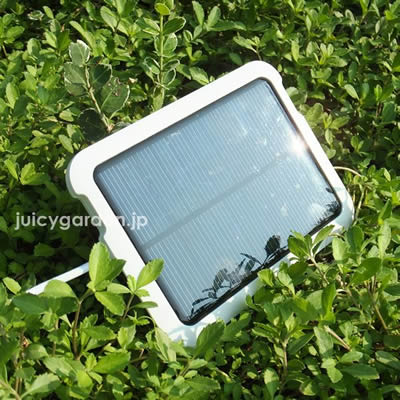 「スマートアンドグリーン (Smart & Green) イリス 充電式LEDガーデンライト専用 ソーラーチャージャー」