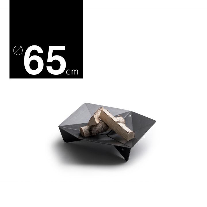 コールテン鋼製 焚き火台「ホーファッツ(hoefats) TRIPLE ファイヤーボウル 65cm」