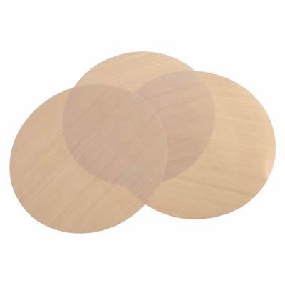 ドーム型ピザ窯専用オプション ピザ用敷き紙 「家庭用石窯 プチキルン専用 テフロンシート 3枚セット」