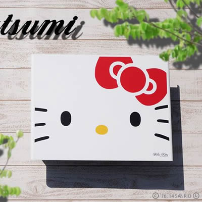 「ハローキティ ガーデンコレクション アートポスト L'ombre ロンブル Hello Kitty フェイス」 【取り付け工事対応商品:区分A】