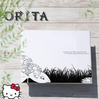 「ハローキティ ガーデンコレクション アートポスト L'ombre ロンブル Hello Kitty Many Thanks」 【取り付け工事対応商品:区分A】