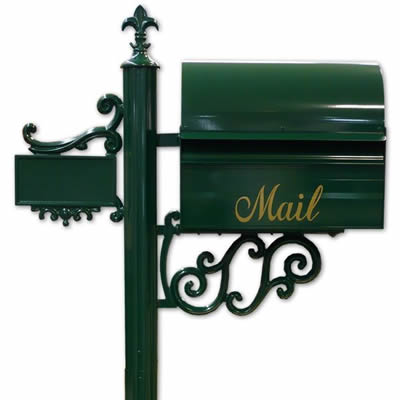 「レターボックスマン 3090」 スタンド一体型の郵便ポスト