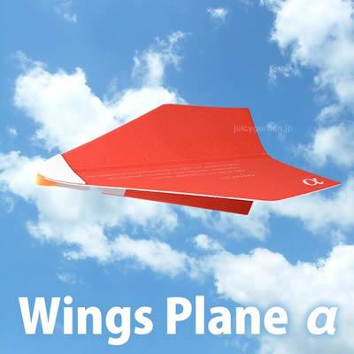 「Wings Plane α ウィングスプレーン アルファ」 二宮康明博士設計