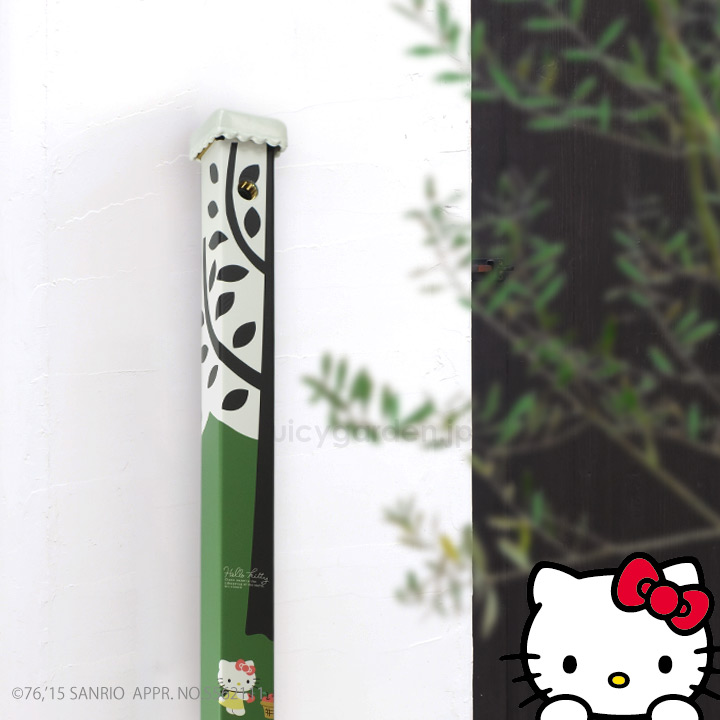 サンリオ Hello Kittyとコラボ「ハローキティ立水栓」 3色:蛇口別売り