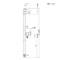 オシャレなカラフル水栓柱「ジラーレW <10色> 2口タイプ」上下専用蛇口付