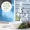 上品に可愛い立水栓 「フルール (水栓柱+ガーデンパン+蛇口2個セット)」