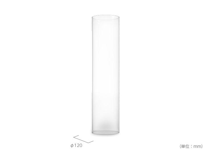 ランプ・ガーデントーチ「ホーファッツ(hoefats) SPIN リプレイスメントガラス(交換用)」