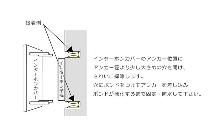 「生き物インターホンカバー ヤモリ IPC-53」