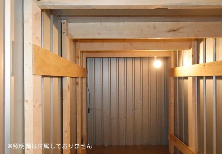 【ユーロ物置と同時購入のみ注文可能】ユーロ物置オプション 積雪対策「ユーロ物置 1523SQ1・1530SQ1用 木製補強キット」