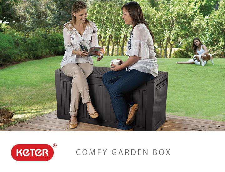「ケター コンフィ ガーデンボックス(COMFY GARDEN BOX)」