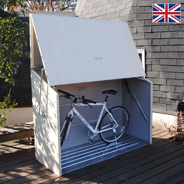 自転車保管庫 メタルシェッドTM3