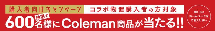 「Coleman × YODOKO コラボ物置(積雪型)」