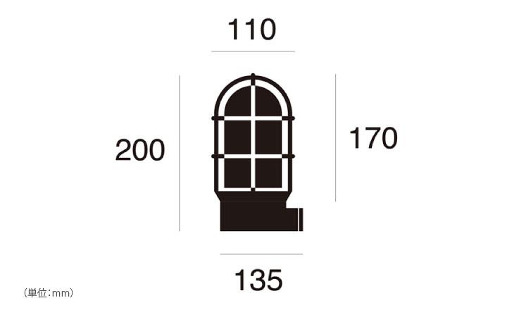マリンランプ LED電球付「アートワークスタジオ(ARTWORKSTUDIO) ビーチハウス ベーシックランプ(Beach house-basic lamp) コードなし/屋内・屋外兼用」