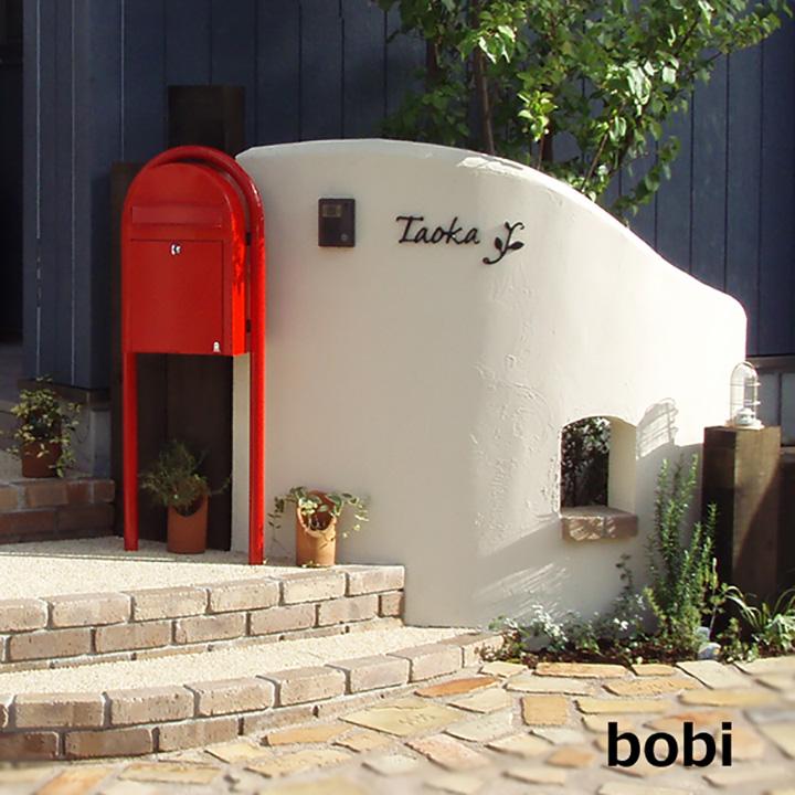 ポスト,ボビダイヤル錠,鍵無し,,取っ手,郵便受け,郵便ポスト,bobi