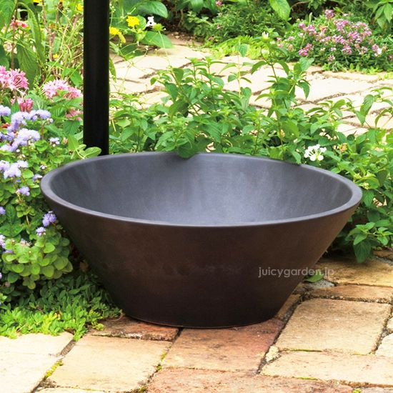 水鉢 ブラック