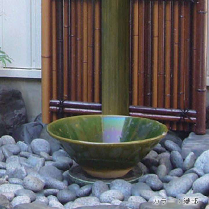 ガーデン水鉢 和風
